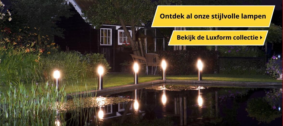 Stijlvolle lampen | Wishpel-Tuinverlichting.nl
